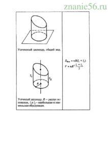 Геометрия тело вращения